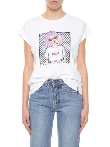 berna W 212053 2 t-shirt donna bianco