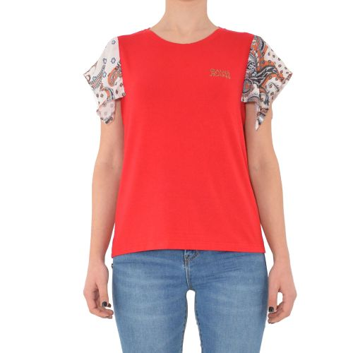 gaudi 111BD64059 3477 t-shirt donna rosso