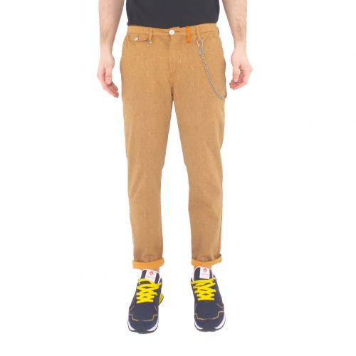 berna M 210143 359 pantalone uomo arancione