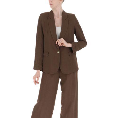vicolo giacca donna cioccolato TH1498