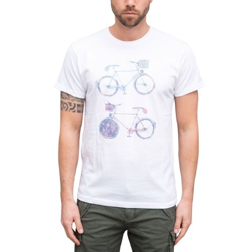 squad2 t-shirt uomo bianco TS018