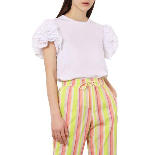 imperial TL18BARBRL 1100 t-shirt donna bianco