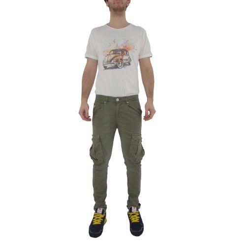 berna M 210210 102 pantalone uomo salvia
