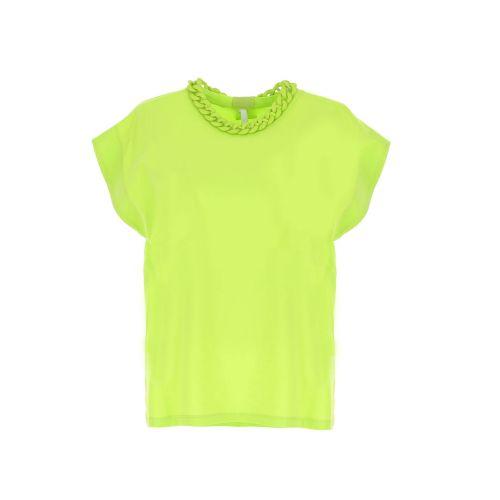 imperial t-shirt donna verde acido RET2BAS