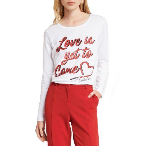 gaudi 021BD64011 2100 t-shirt donna bianco