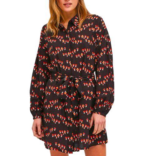 compania fantastica abito donna nero FA21HAN05
