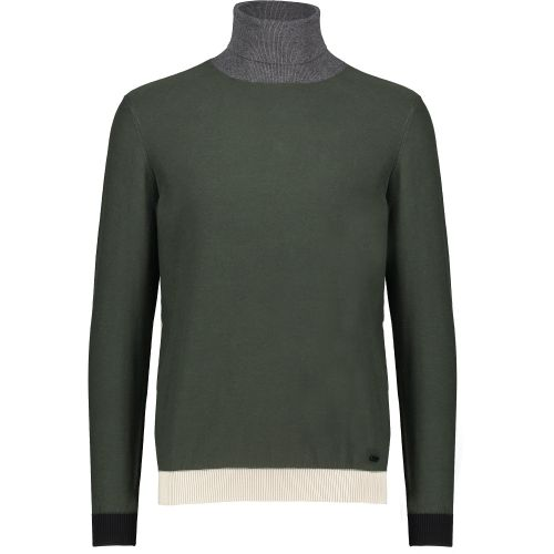 gaudi maglia uomo verde militare 121GU53052