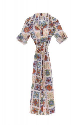 dixie AGMIPTG 1998 abito donna multicolor