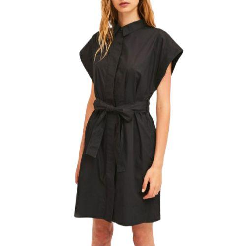 compania fantastica SP21HAN27 NERO abito donna nero