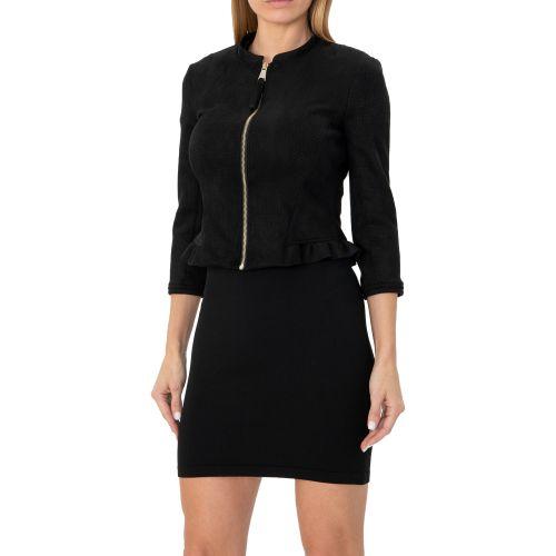silvian heach PGP20555GB BLACK giacca donna nero
