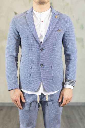 koon giacca uomo blu/beige ALMA IN 15