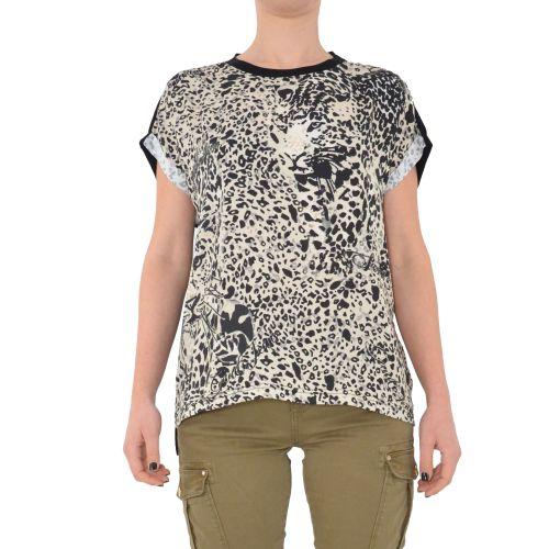 gaudi 111BD64069 2001 t-shirt donna nero
