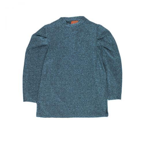 rame lurex donna blusa FFSWE01