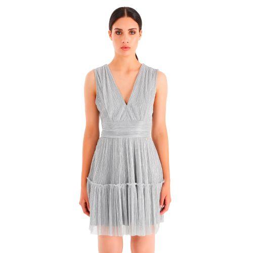 rinascimento abito donna argento CFC0104682003
