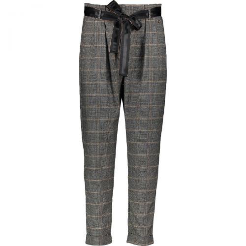 gaudi 021BD25020 025050-01 pantalone donna grigio e nero