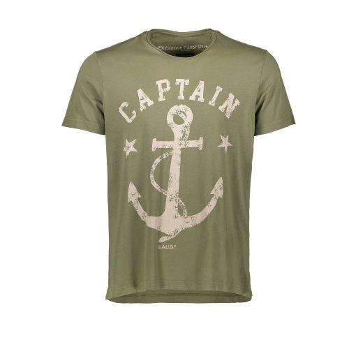 gaudi 111GU64076 3533 t-shirt uomo verde