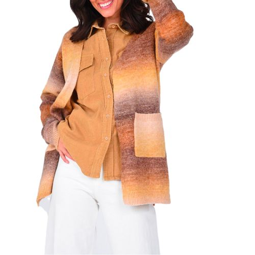 molly bracken cardigan donna cammello LA868A21