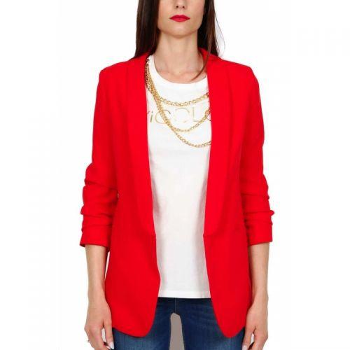 vicolo TH1218 ROSSO giacca donna rosso