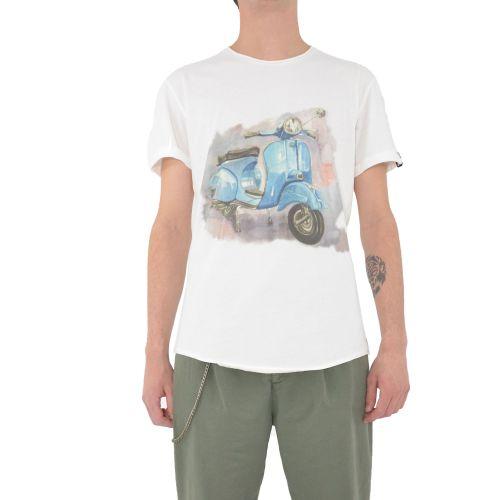 berna M 210137 24 t-shirt uomo latte