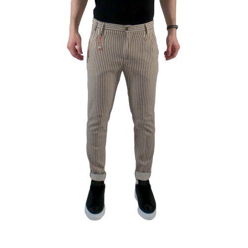 squad2 FDC1304 U pantalone uomo beige