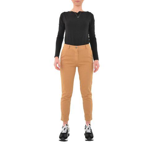 bighet pantalone donna cammello 2585/9815