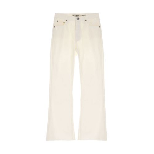 please pantalone donna bianco grezzo P27RCV9N3N