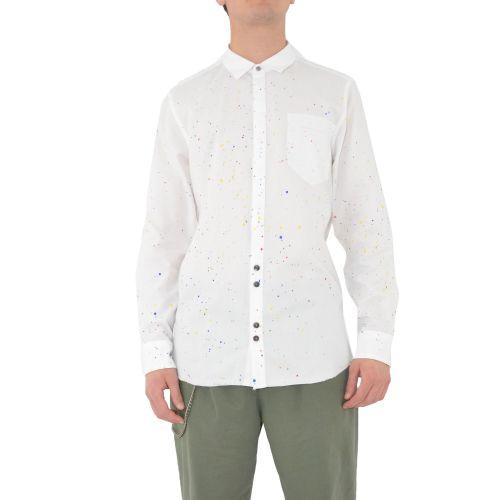 berna M 210160 2 camicia uomo bianco