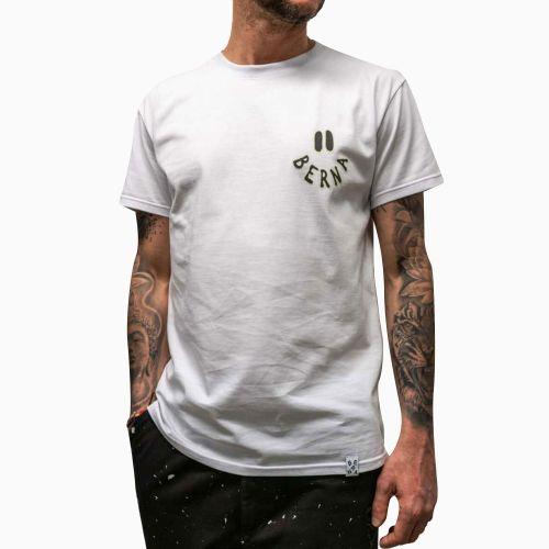 berna M 210049 2 t-shirt uomo bianco