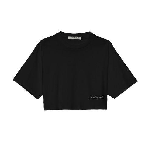 hinnominate t-shirt donna nero HNWSTC 024