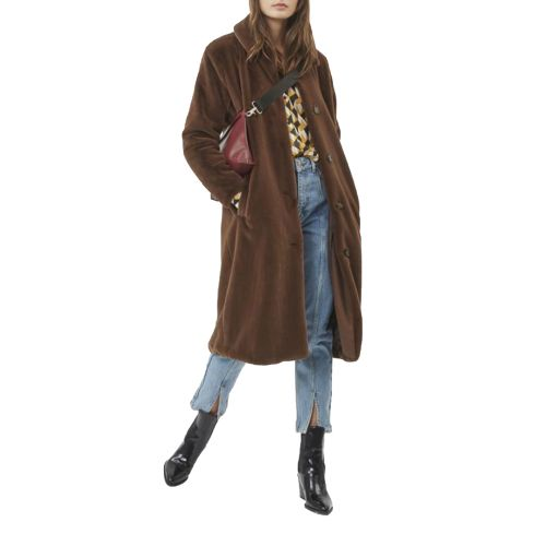 minimum EVIE 6122 POTTING SOIL 115 cappotto donna marrone