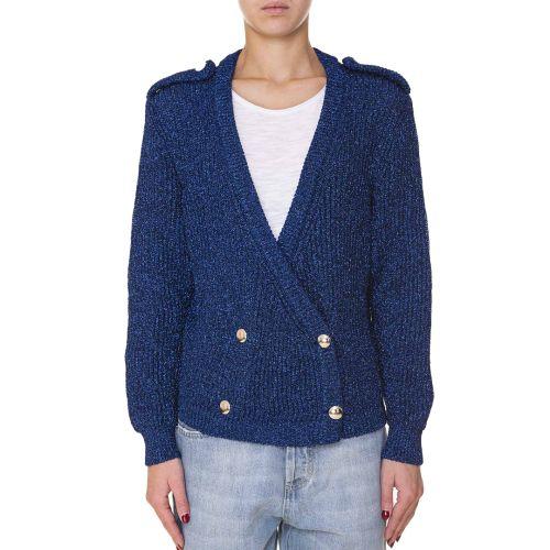 vicolo maglia donna blu 5092X