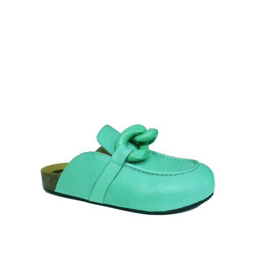 crown scarpe donna verde JW SABOT