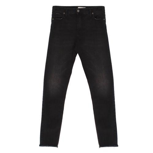 please jeans donna nero denim P0SJCN9W4H