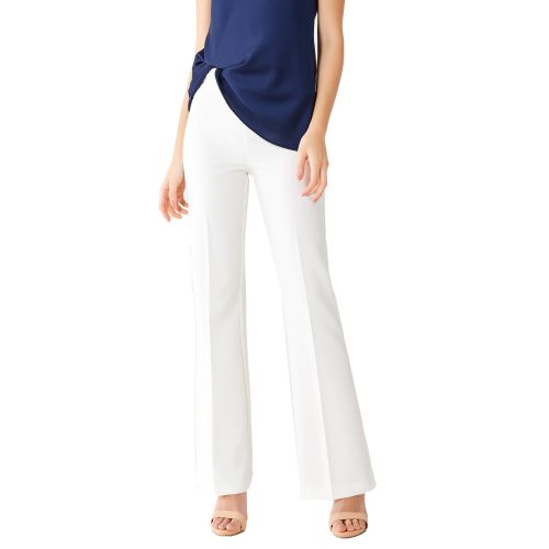 rinascimento CFC0102420003 B021 pantalone donna bianco