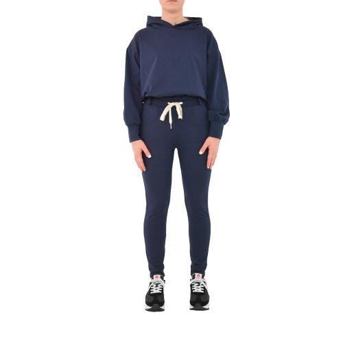 bighet 0585/9922 BLU pantalone donna blu