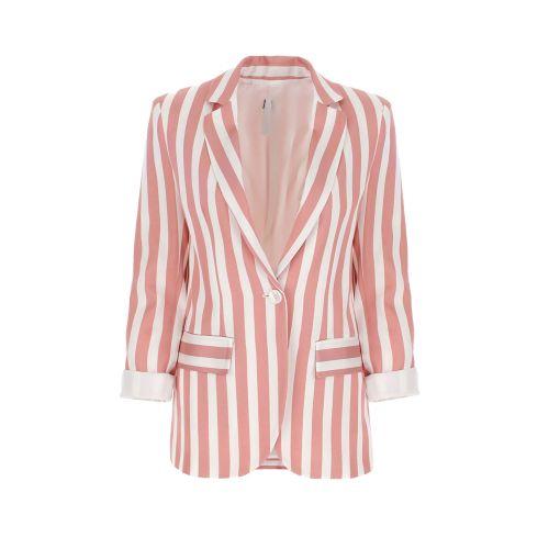 imperial JY47BJX 2114 giacca donna panna e rosa