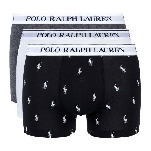 ralph lauren three-pack classic trunks uomo intimo 714662050