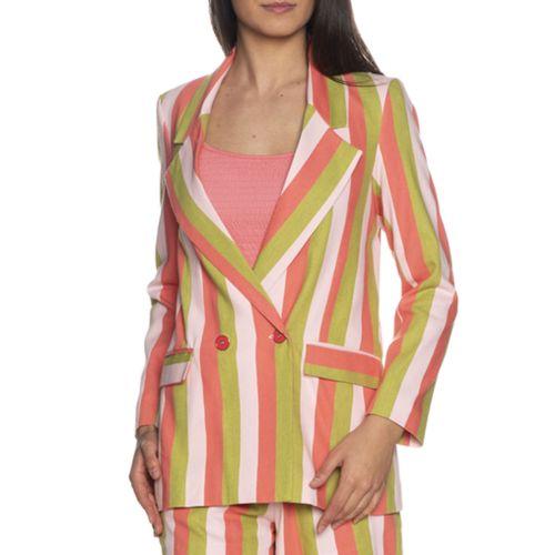 imperial J9990026L 2724 giacca donna rosa e verde