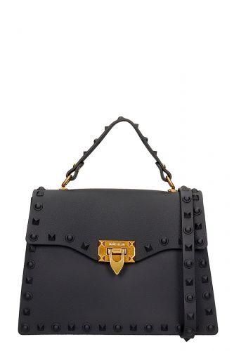 marc ellis FLAT ROCK M NERO/GOLD borsa donna nero e oro