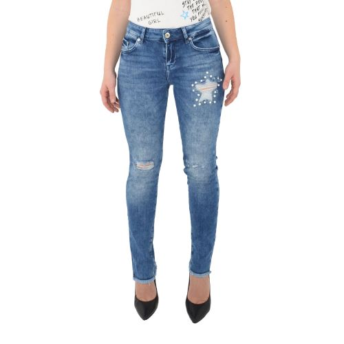 denny rose 111ND26014 00 jeans donna denim