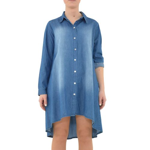 bighet 3617/15 DENIM MEDIO camicia donna denim