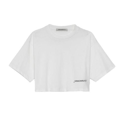 hinnominate t-shirt donna latte HNWSTC 024