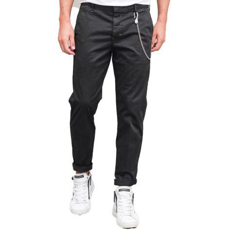 berna pantalone uomo nero M 215022