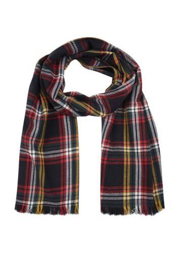 compania fantastica WI19PIC30P 000058 sciarpa donna rosso e nero