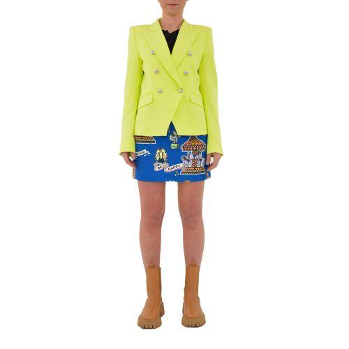 vicolo TH0008 LIME giacca donna giallo