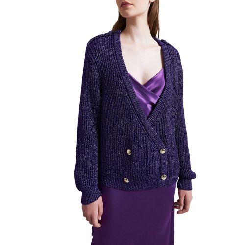 vicolo maglia donna viola 5092X