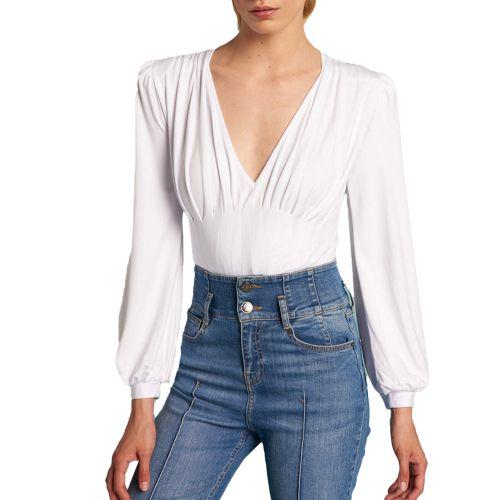 denny rose t-shirt donna bianco 121DD60016