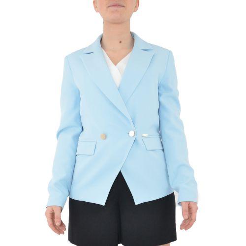 denny rose 111ND35001 3910 giacca donna celeste