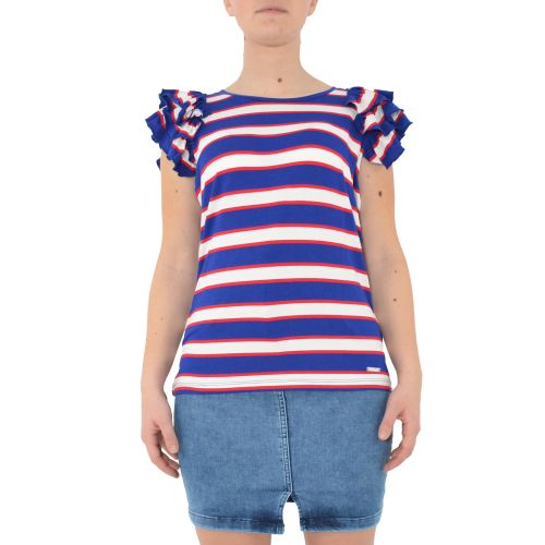 denny rose 111ND64005 118935-01 t-shirt donna multicolor