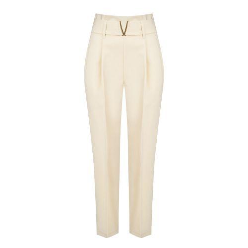 rinascimento CFC0017806002 B382 pantalone donna beige